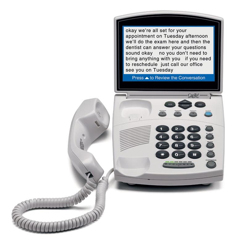 CapTel phone