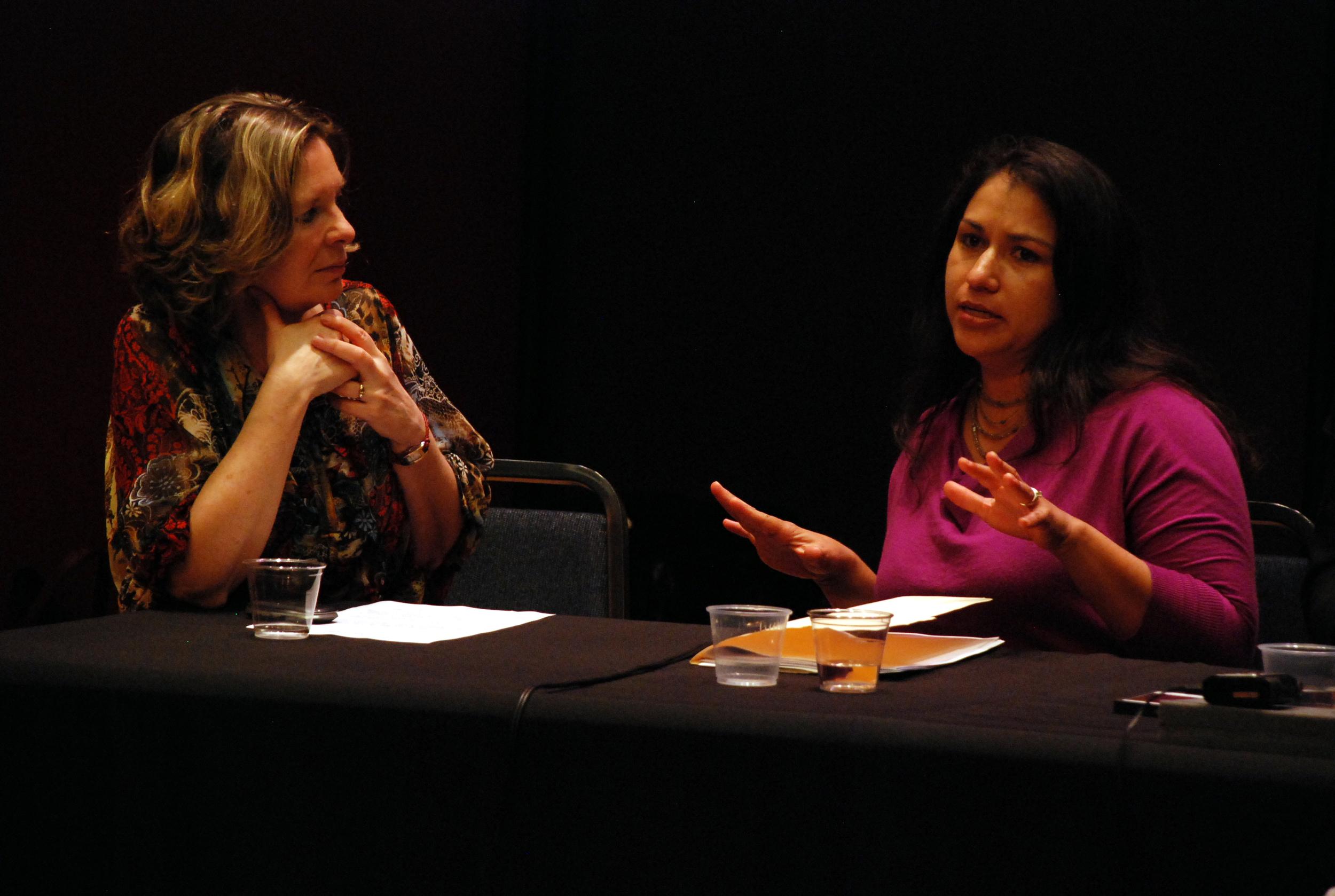 Susan Narucki and Elizabeth Aguilera