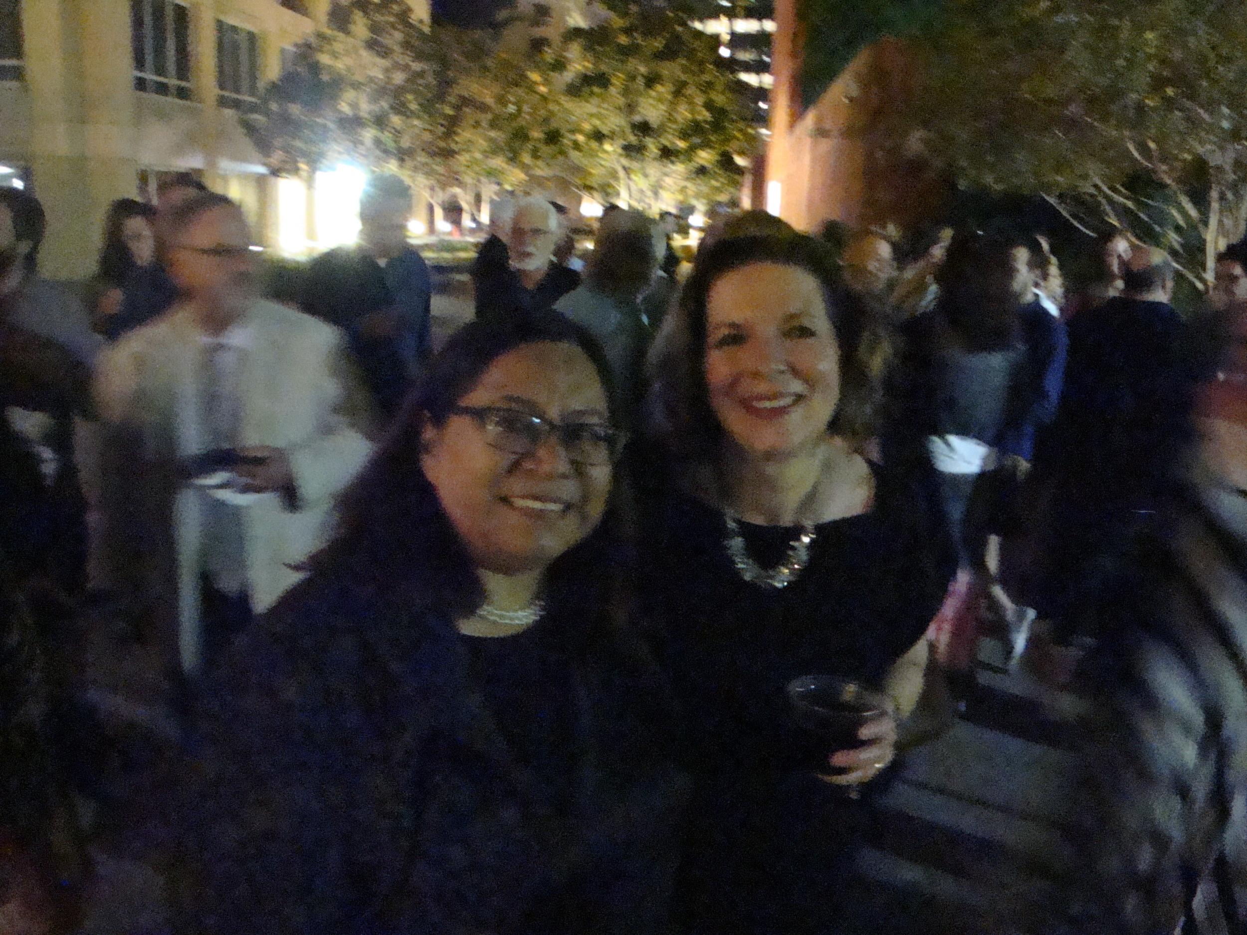 Silvia Argueta and Susan Narucki
