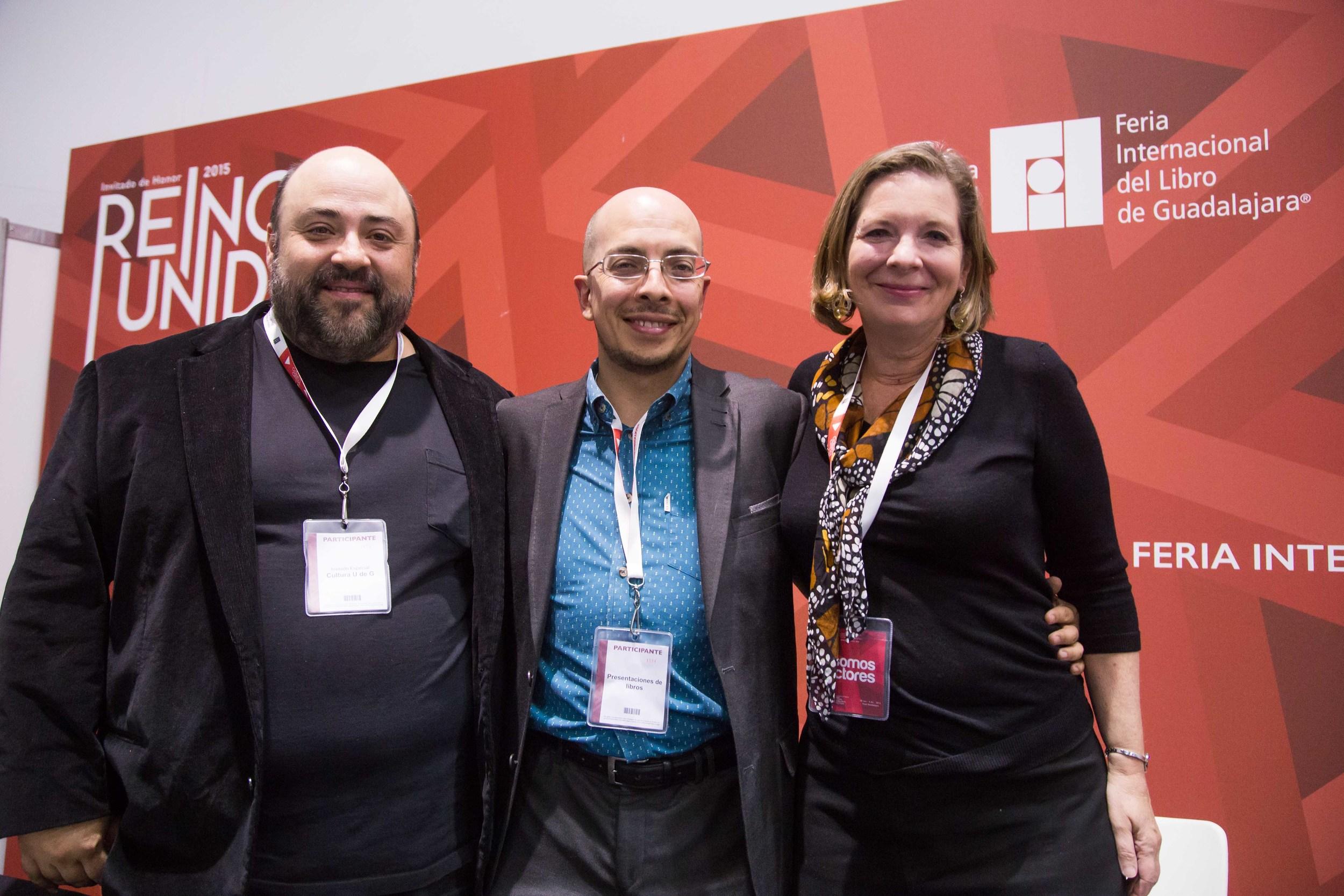 Pablo Gomez, Jorge Volpi and Susan Narucki