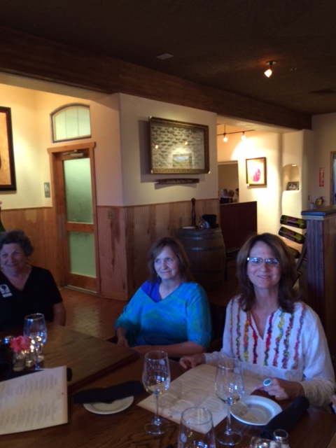 Dinner at St. Clair Winery with  PSSC members.