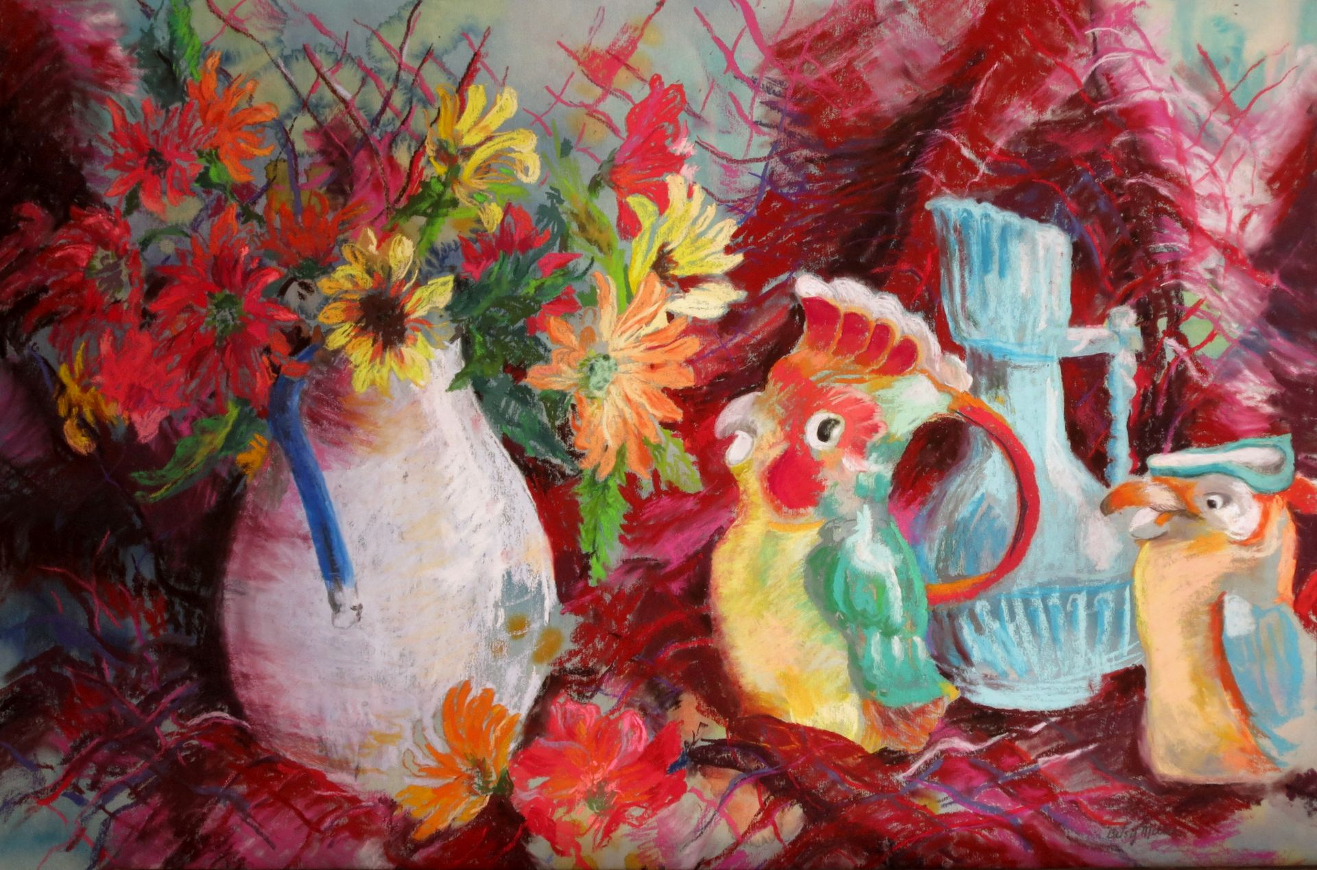 Pitcher Parade by Betsy Miller