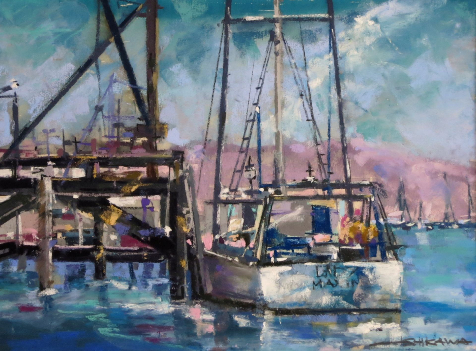 Monterey Boats by Mike Ishikawa