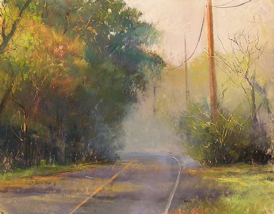 "Out the Gate and Down the Road"" by Gil Dellinger"