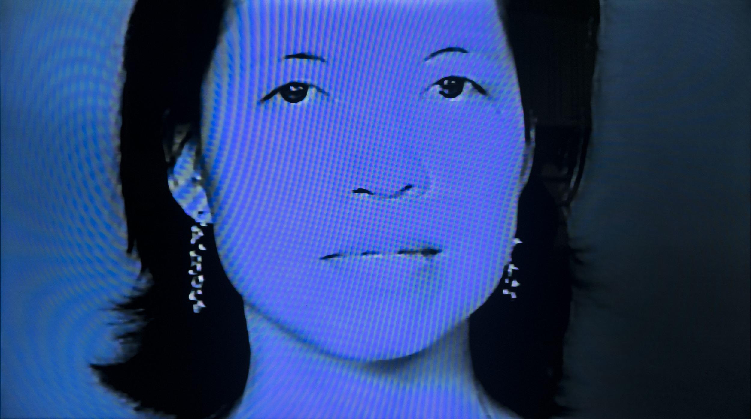Video Portraiture Still Shot of Composer Beata Moon by Benton C Bainbridge