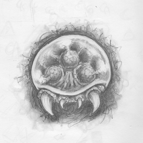 Metroid, Graphite on sketchpad