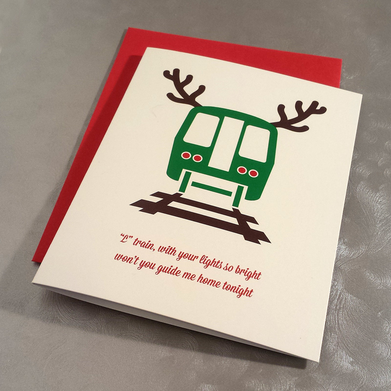 CTA Holiday Train greeting cards.
