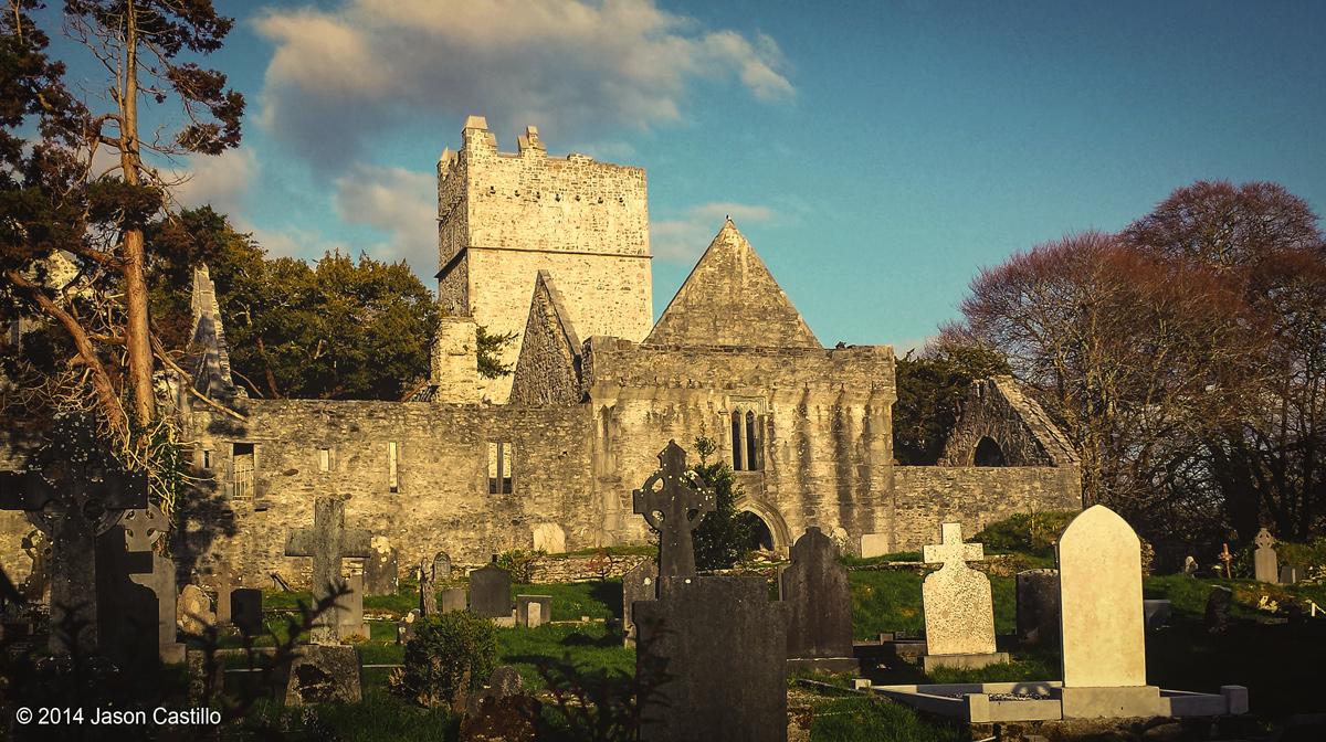 Muchross Abbey in Killarney.