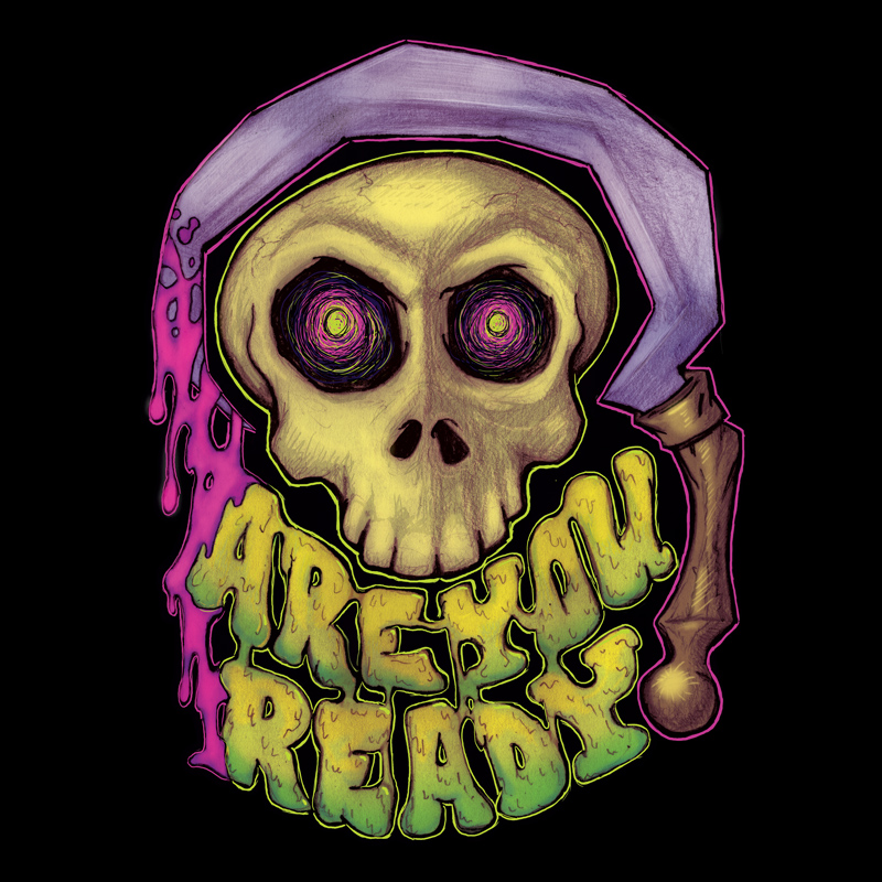 """""""Are You Ready"""" Prints and more at  Redbubble  and  Society6  ."""