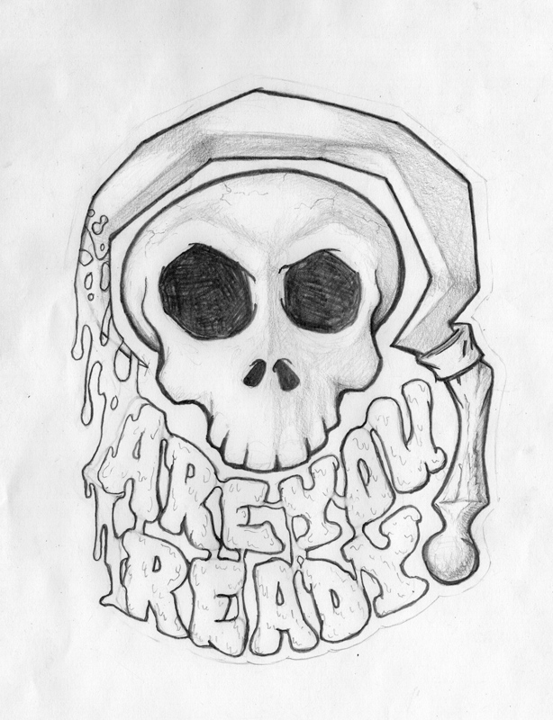 """""""Are You Ready"""" - pencil sketch"""