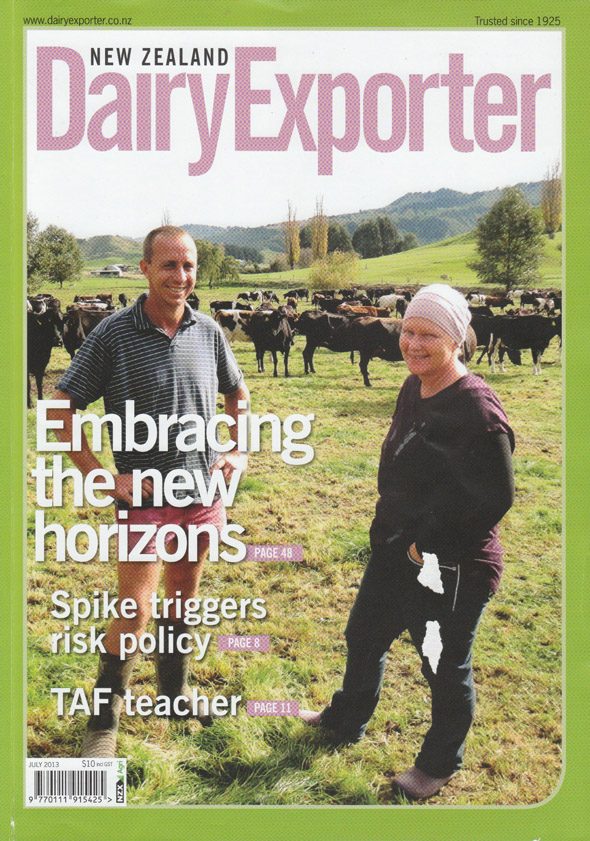 NZ Dairy Exporter cover image