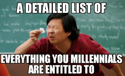 List for millennials