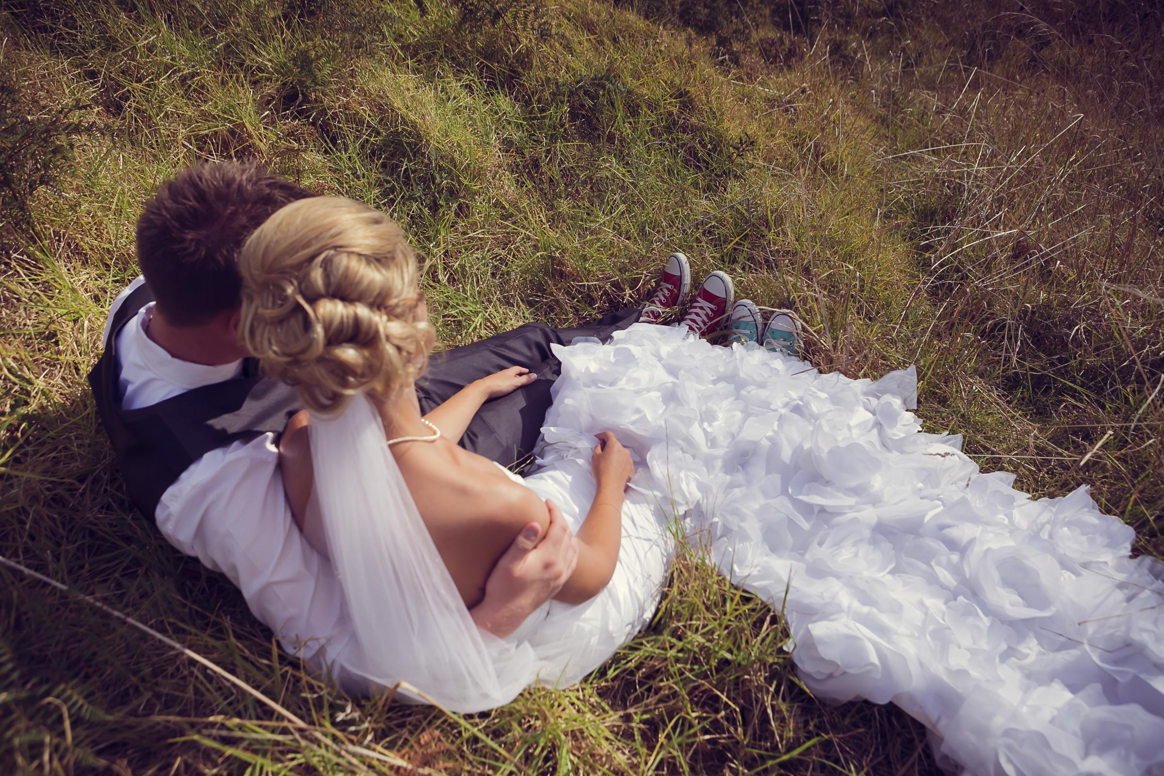 SARAH + STU  | lifestyle block wedding