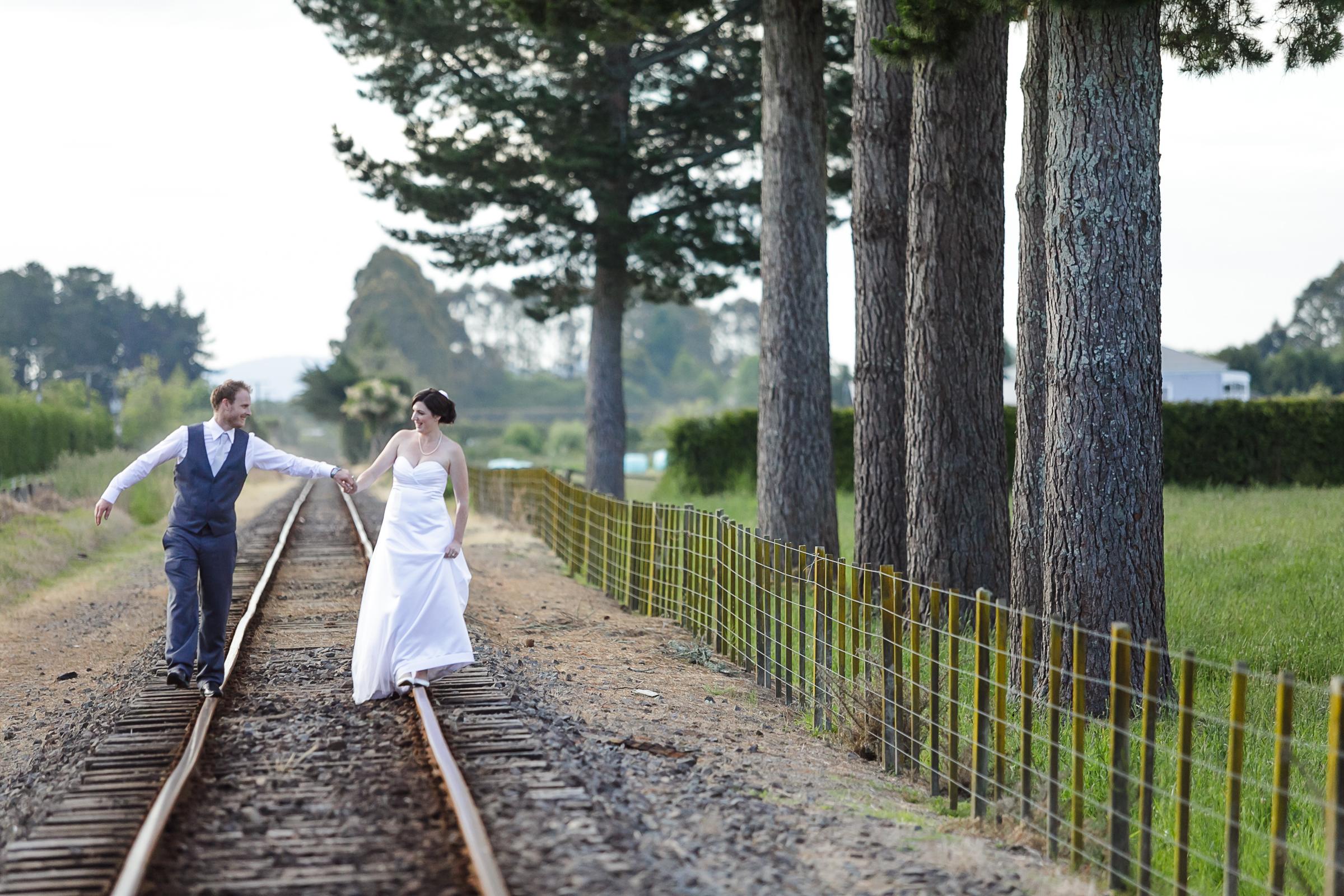 SHEREE + TYLER  | backyard wedding