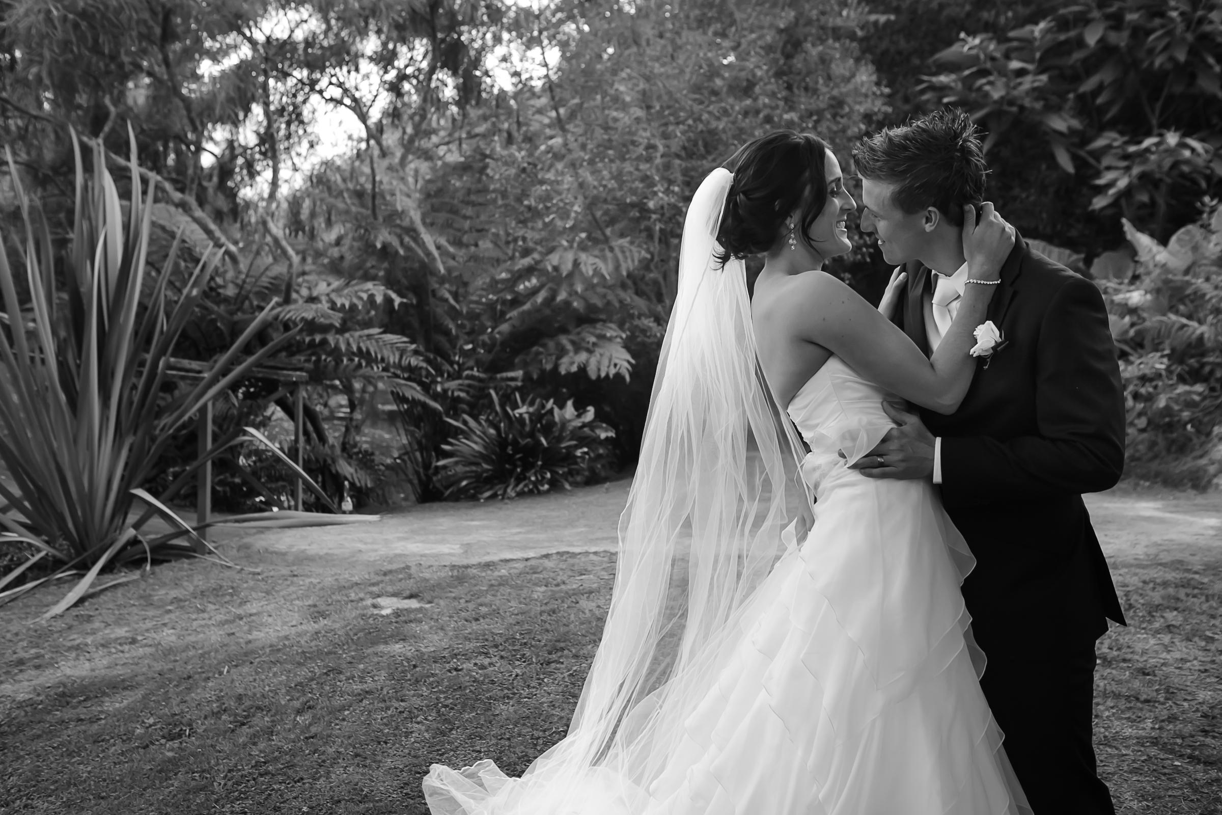 TRACY + CAM  | backyard wedding