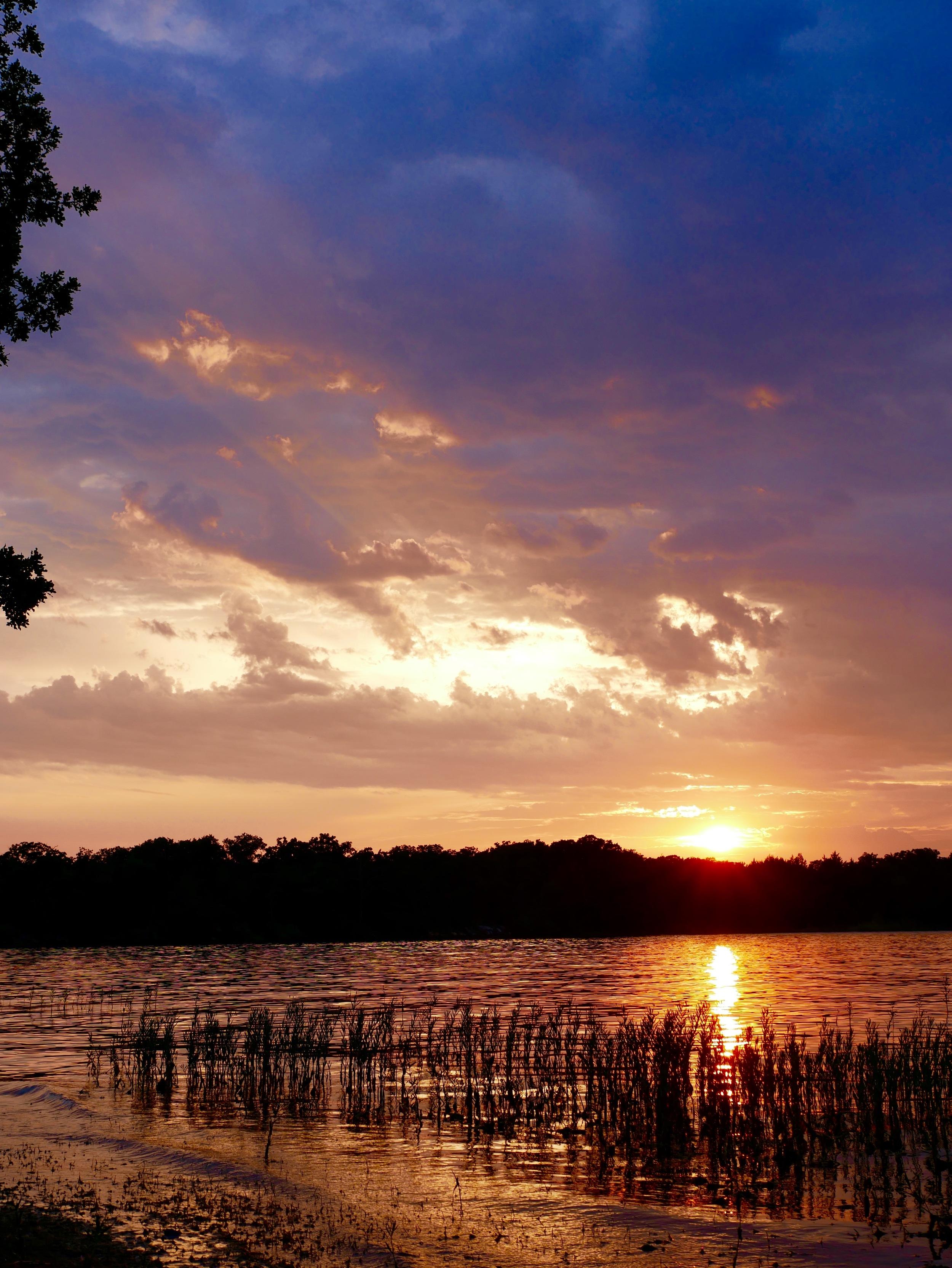 Sunset at Lake Murray