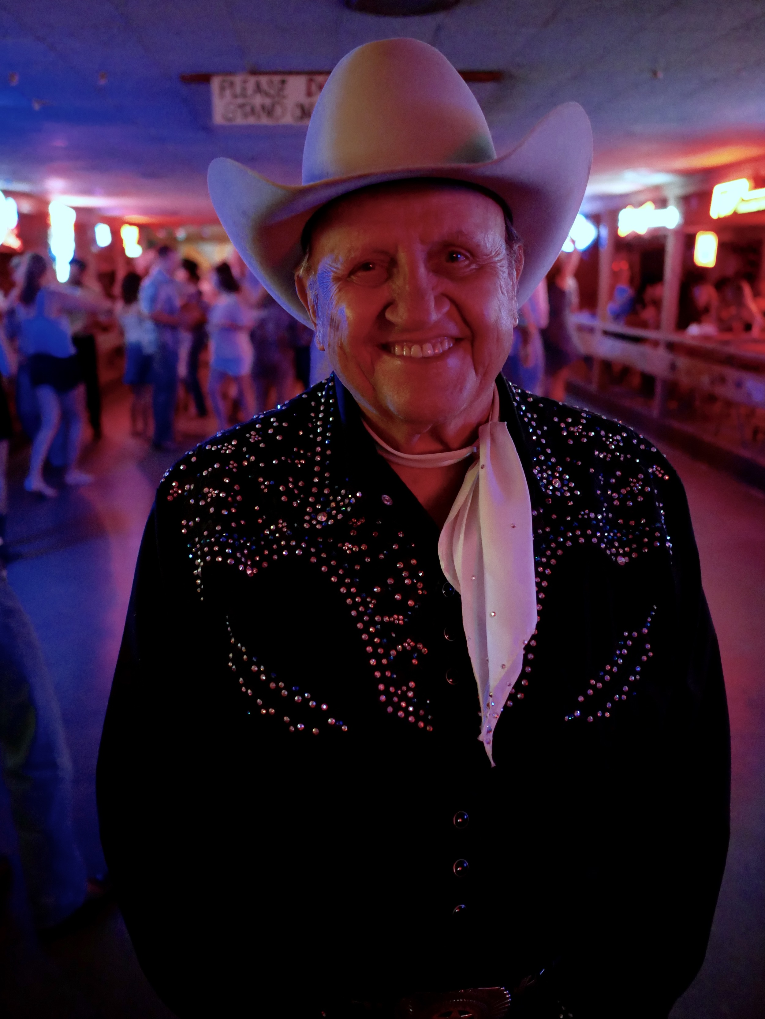 "James White, owner of the oldest Honkey Tonk in the world! ""The Broken Spoke"""