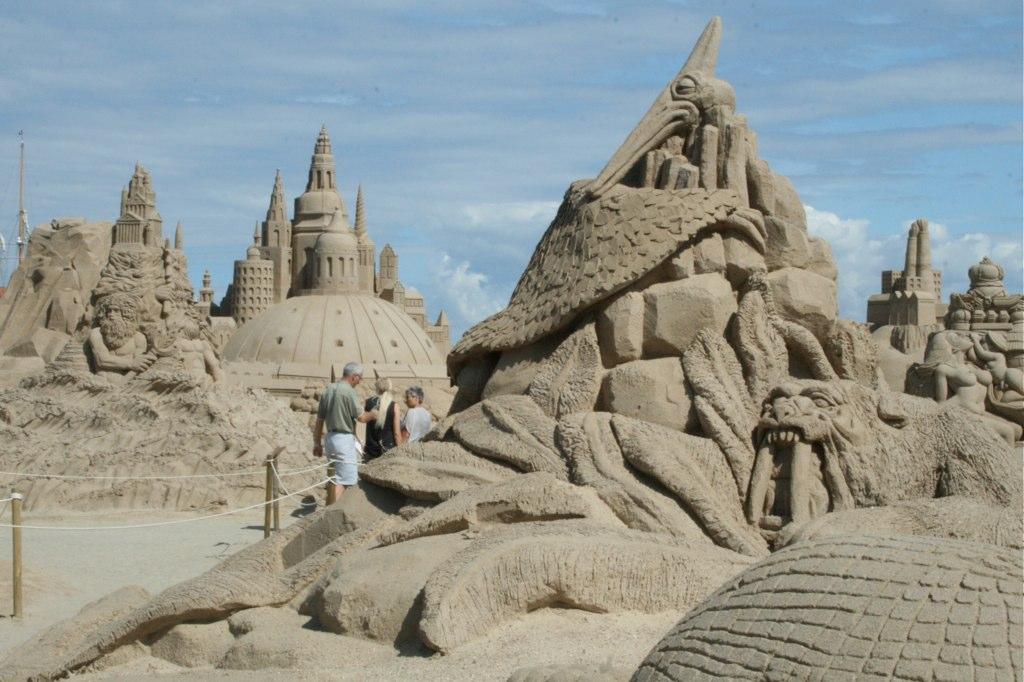 Sandsculptures