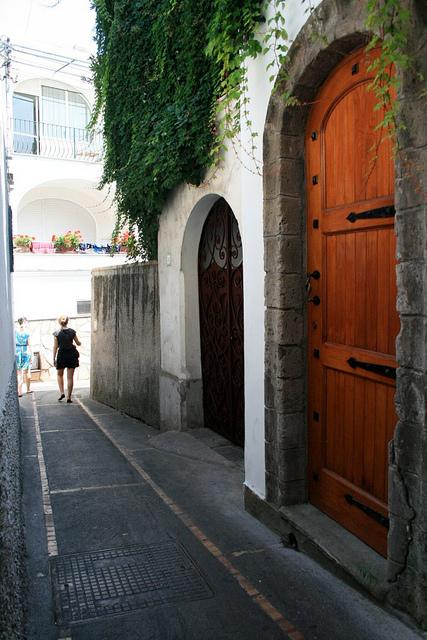Off the beaten path at Anacapri
