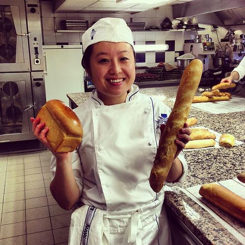 Pain Blanc et Pain de Mie / Baguette and Sandwich Bread