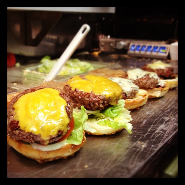 But I have to say we do make some damn good burgers.