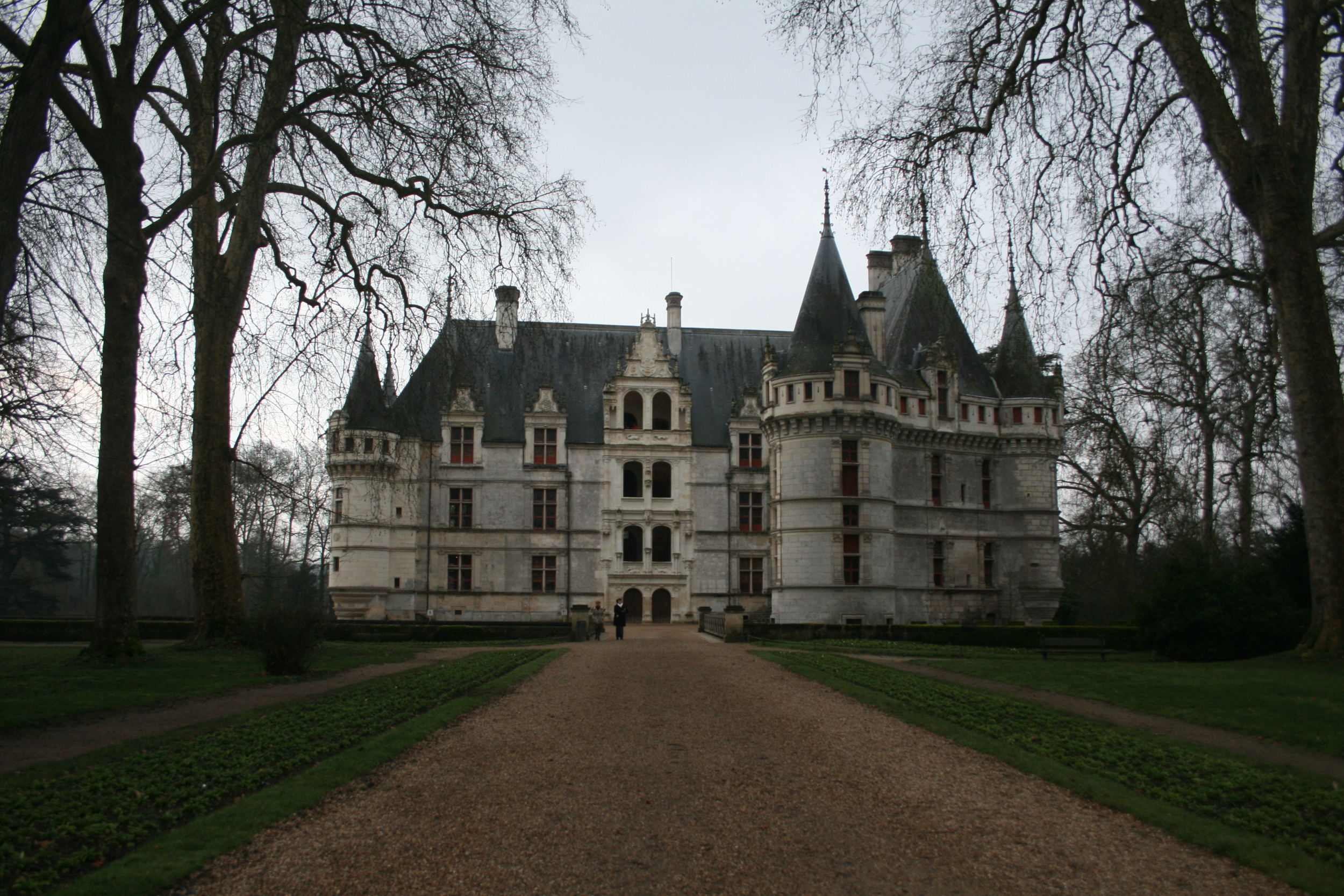 The Château d'Azay-le-Rideau. The one I stayed in was a bit more modest.