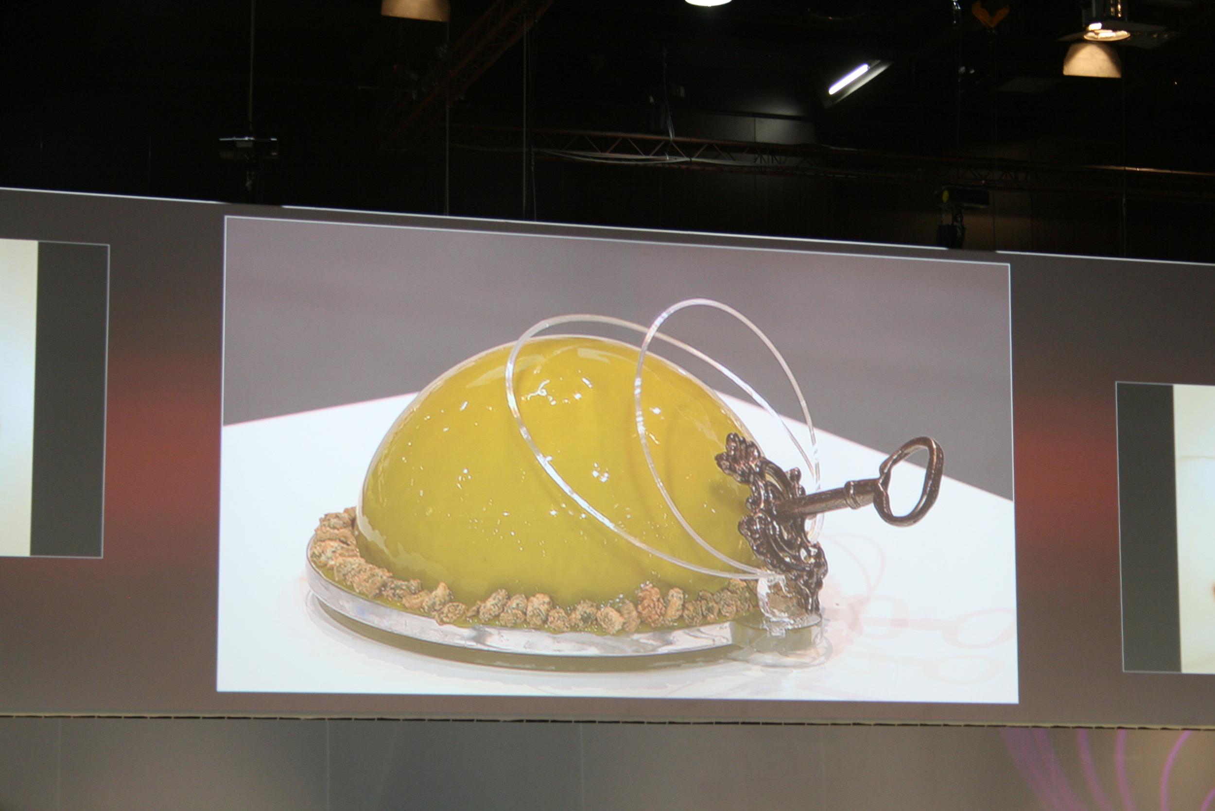 Denmark's (?) fruit dessert, inspired by Davy Jones' Locker.