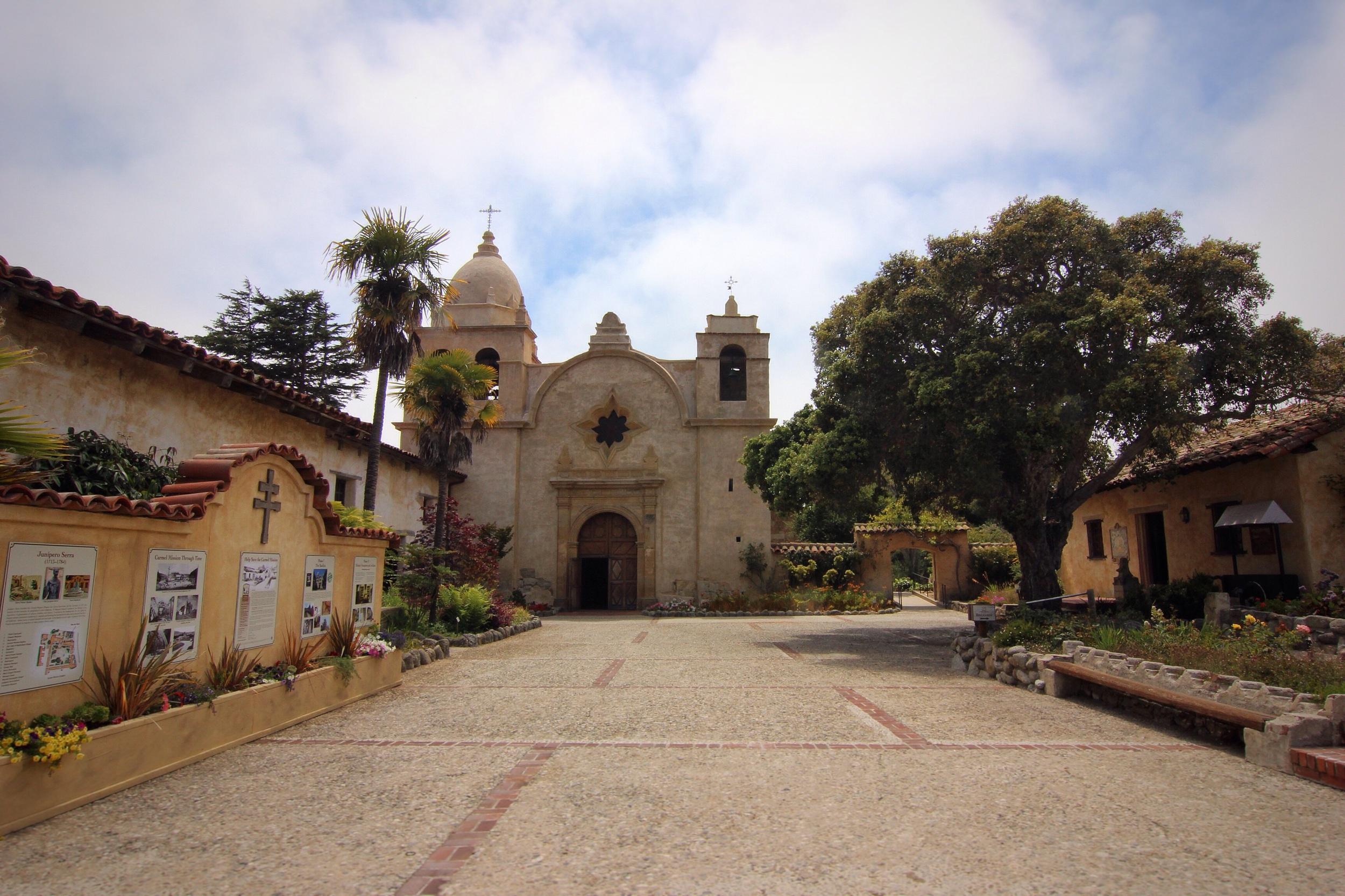 Carmel Mission Basilica.