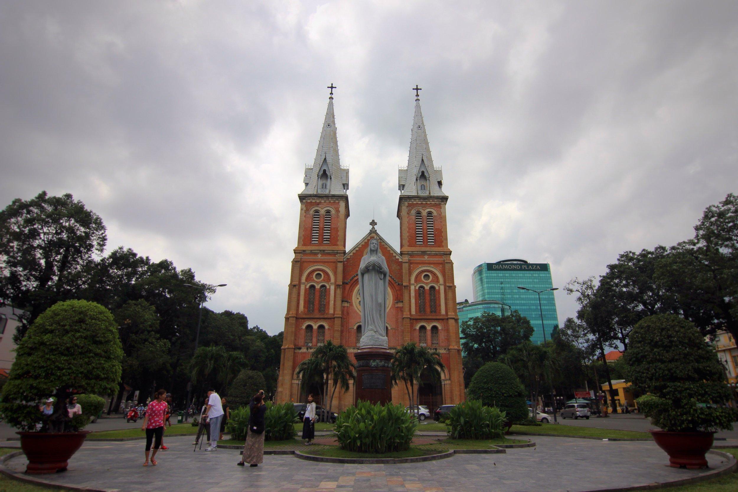 Saigon Notre-Dame Basilica.