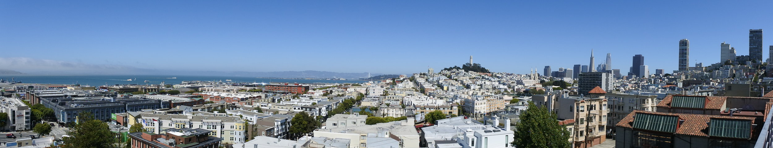 View from one of my favorite spots in SF.