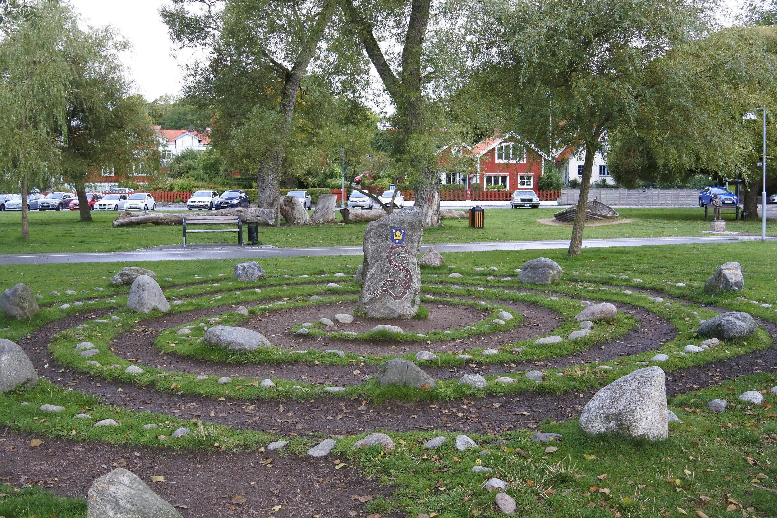 Another rune stone, this time near on the waterfront.