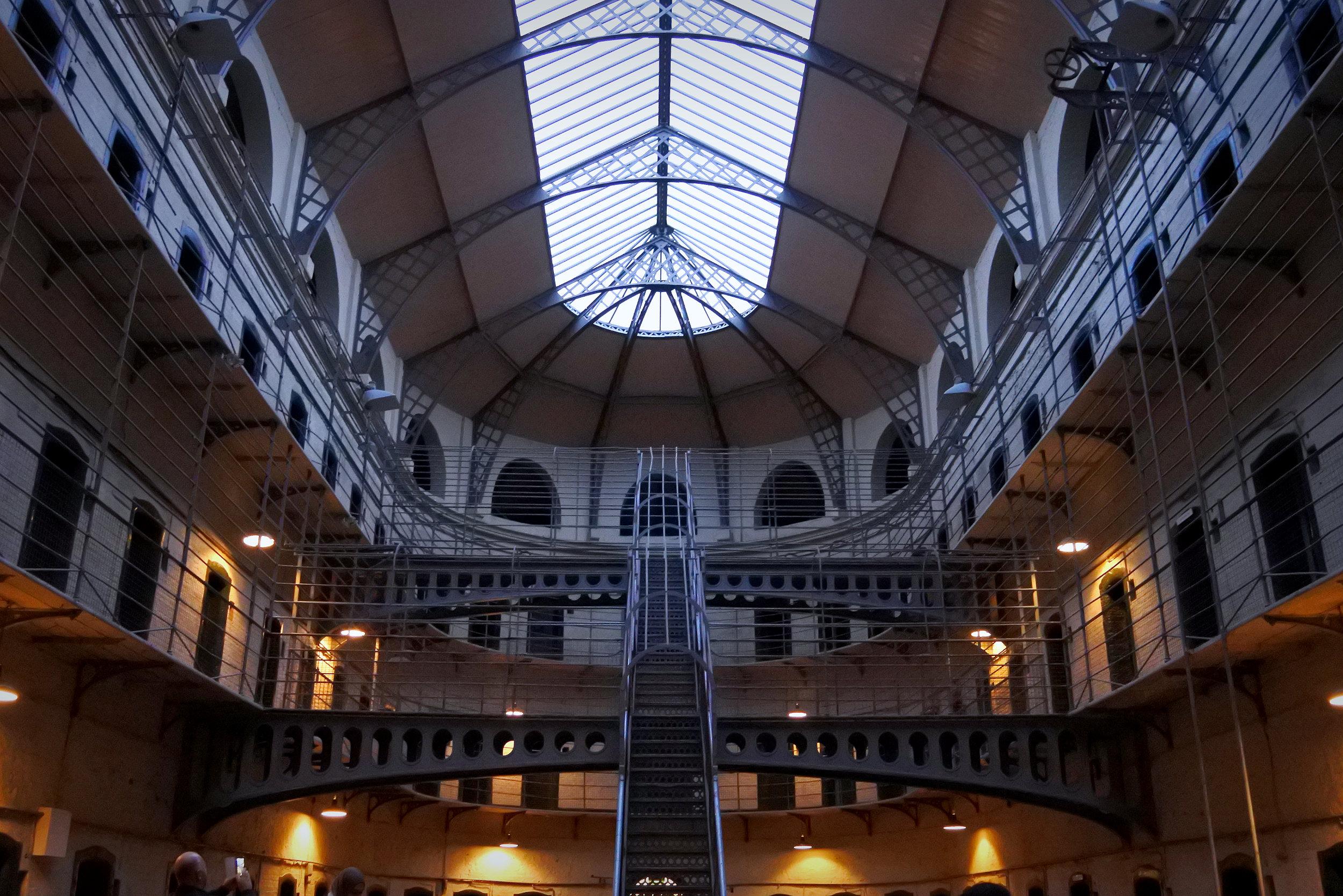 Interior of Kilmainham Gaol.