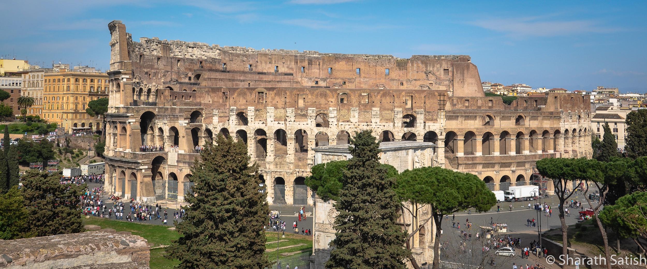 Colosseo, also called Amphitheatrum Flavium