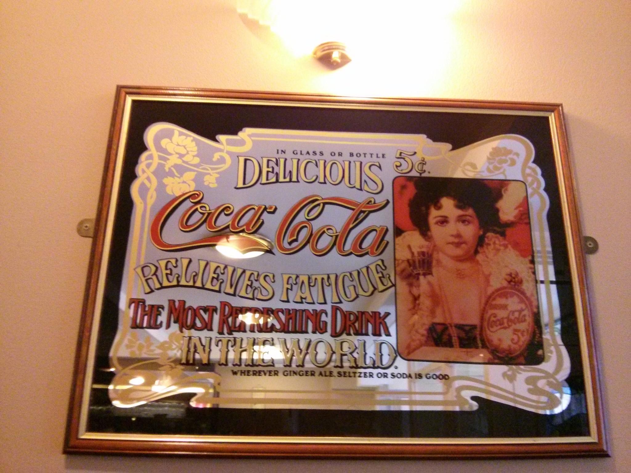 Old Coca Cola advertisement!