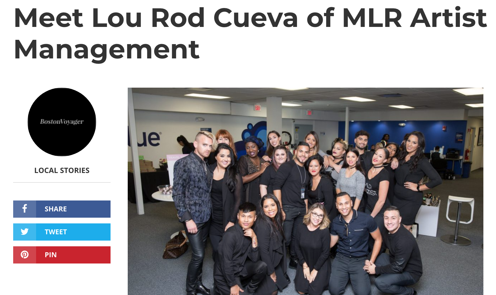 Lou Rod Cueva, Founder & CEO for Boston Voyager