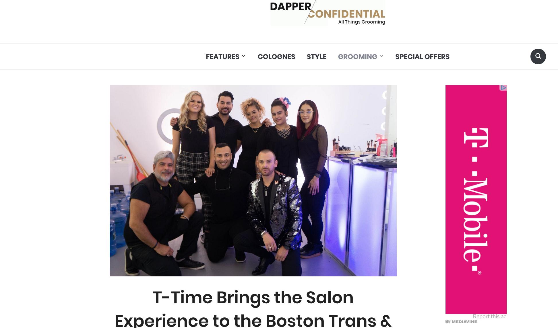Lou Rod Cueva & Team MLR for Dapper Confidential