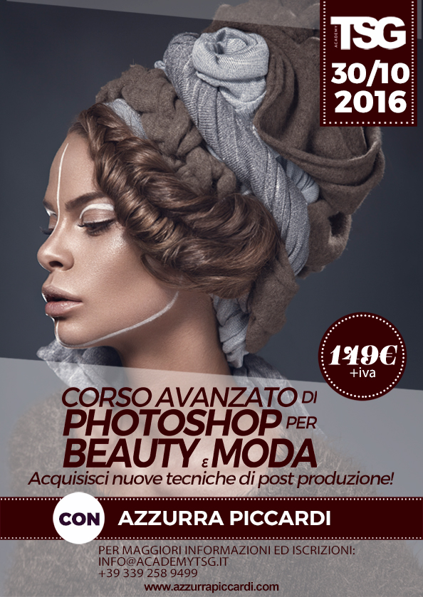 Copy of Corso Avanzato di Photoshop per Beauty e Mod