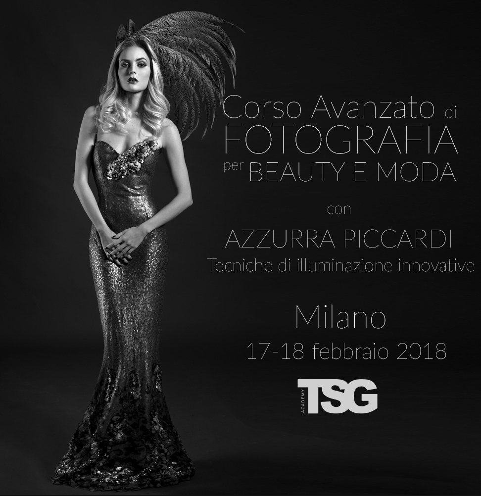 Copy of Corso Avanzato di Fotografia per beauty e moda