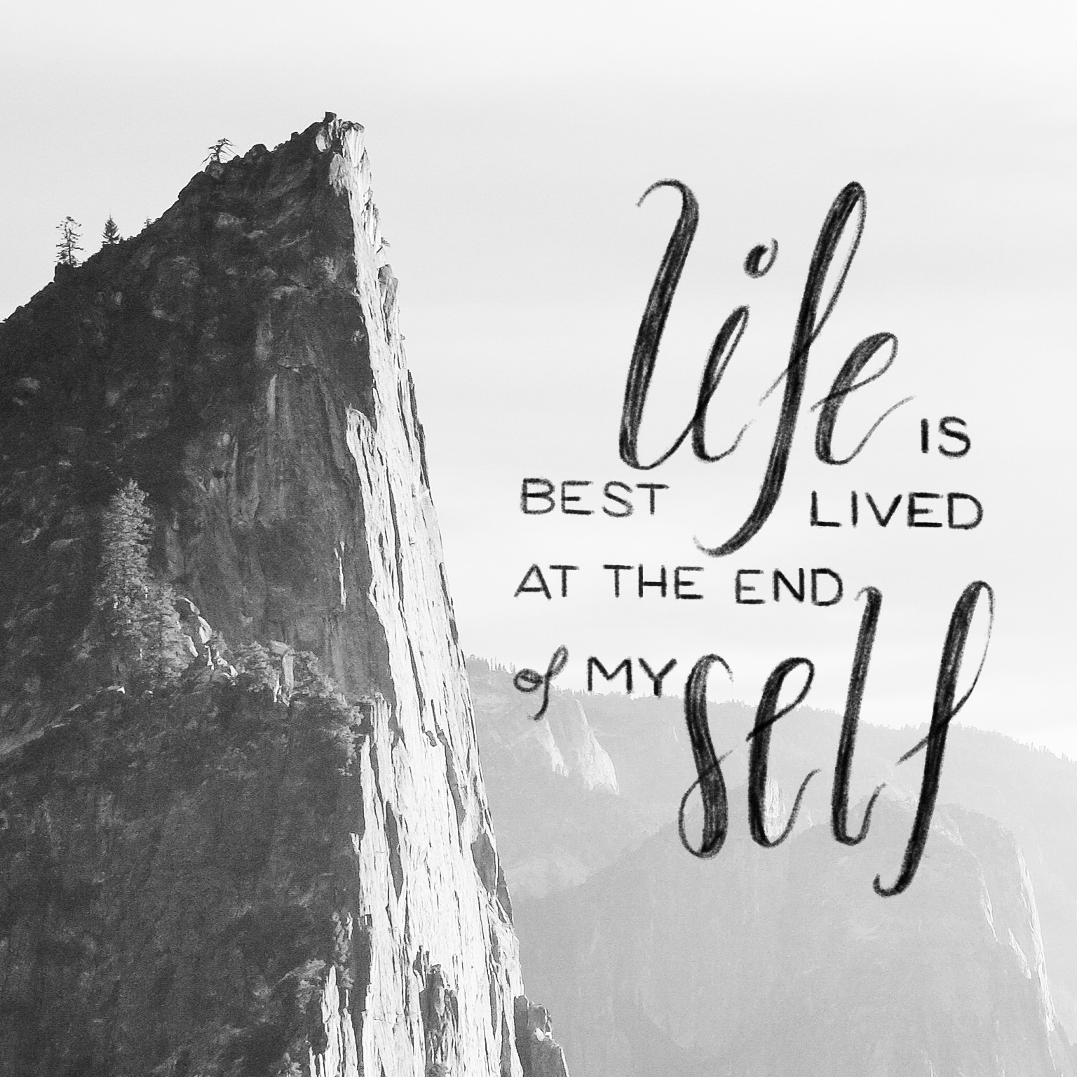 life is best lived