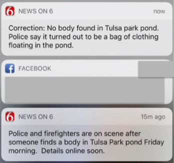 Tulsa Station Jumping the Gun with Push Alerts — FTVLive