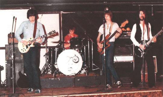 Left to right: Bob Miller, Mark Moretto, Dan Keyes and Greg Williams.