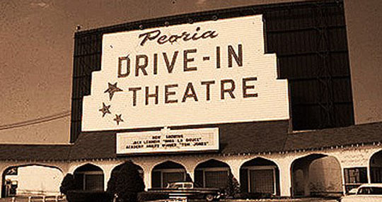 Peoria Drive-in before...