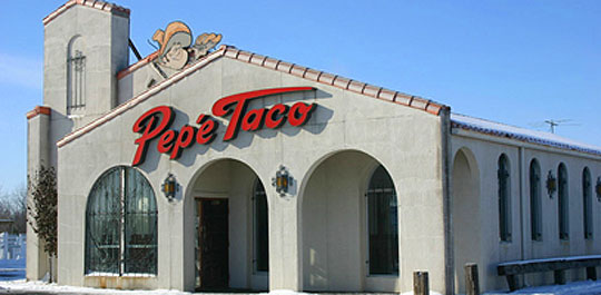 Pepe Taco before...