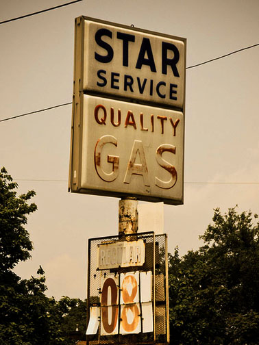 Past Gas—A Photo Journey Of Former Peoria Gas Stations