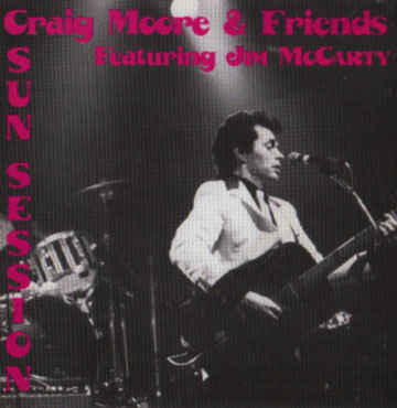 The Craig Moore Sun Sessions featuring Jim McCarty, Craig may or may not have a few of these left for sale. You'll have to stop by Younger Than Yesterday to find out for sure!
