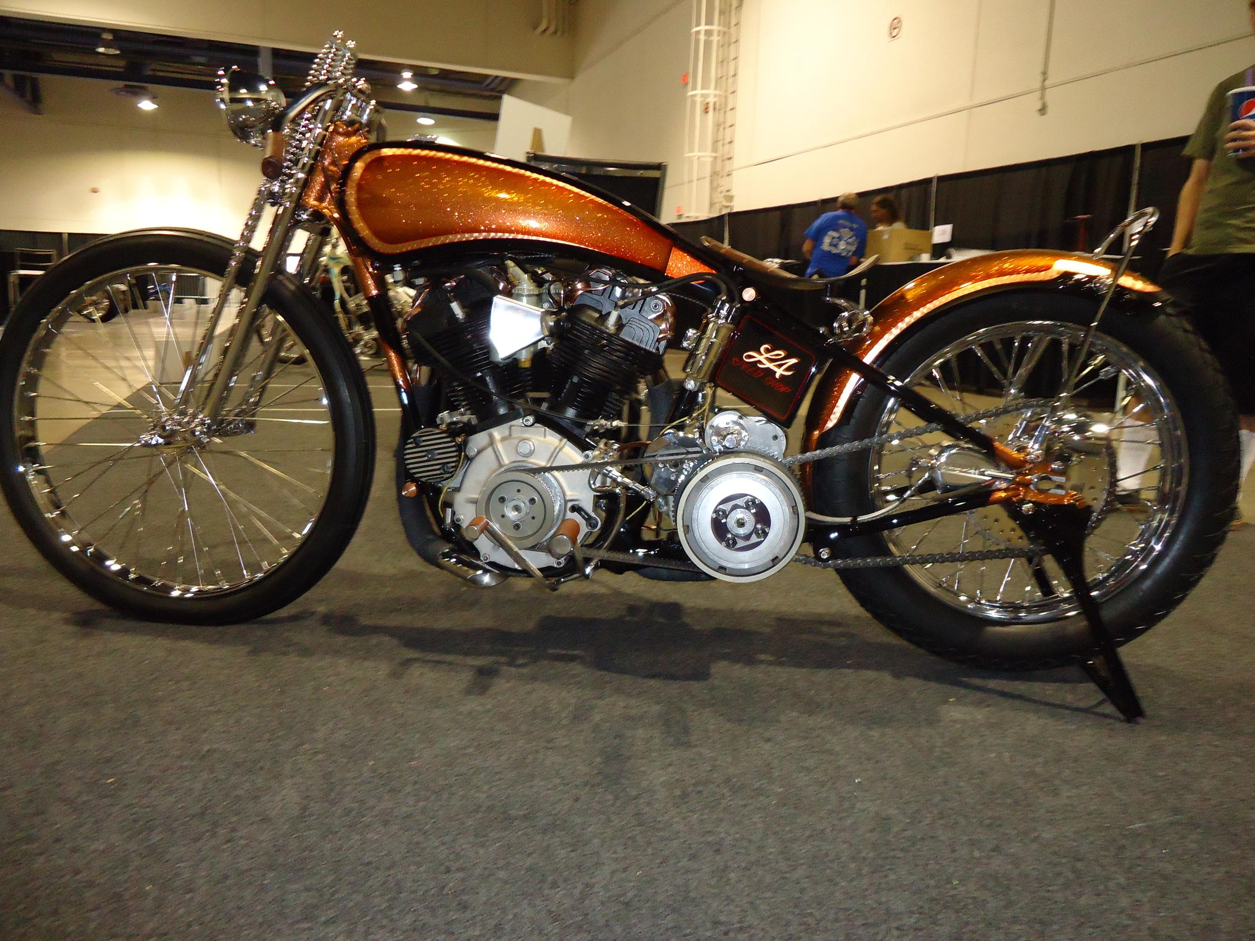 Original 1927 Harley Davidson JD Frame