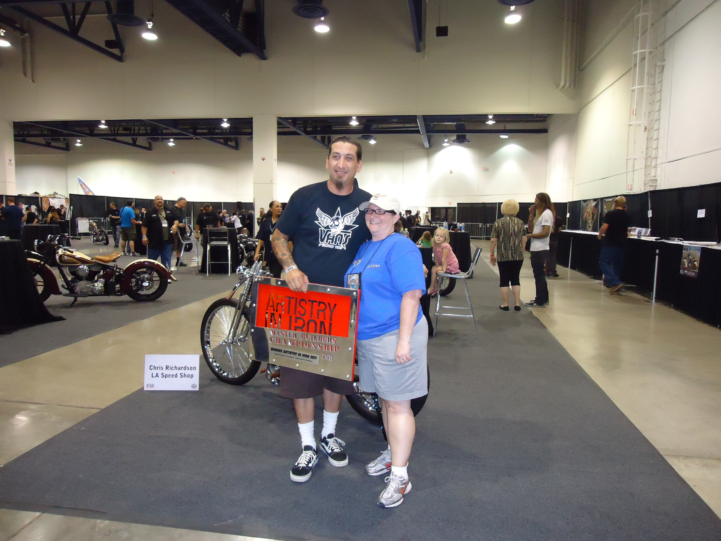 Chris & Mindi (part of the amazing LV Bikefest Staff)