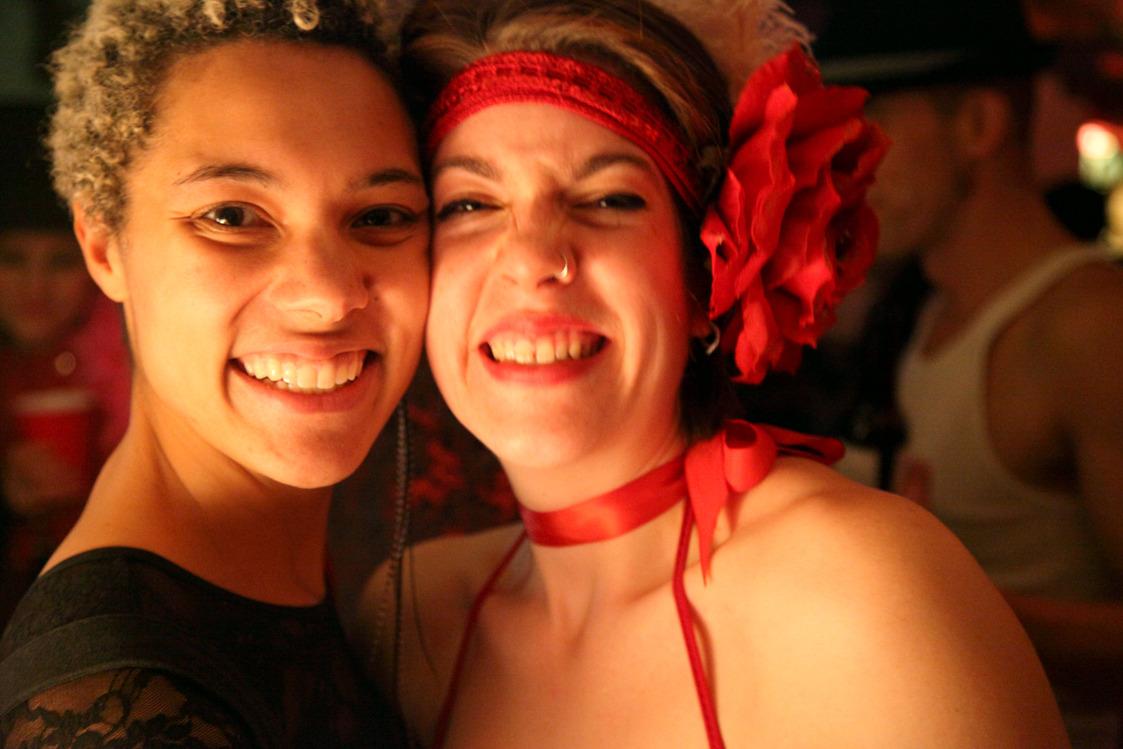 Alyssa & Andrea.