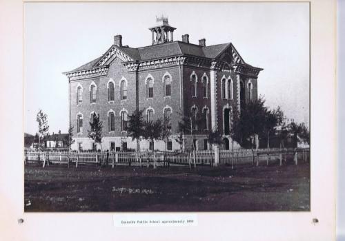 The Eastside School, Circa 1880.