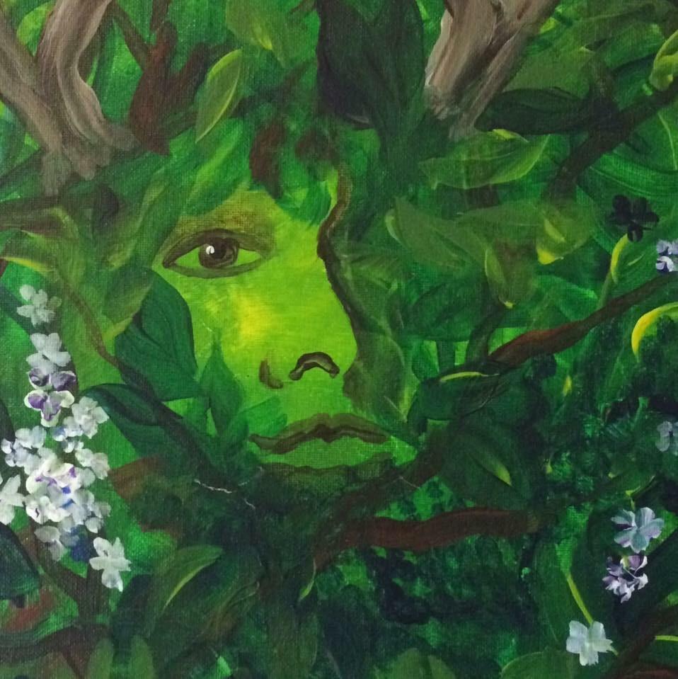 Green Woman Green Earth